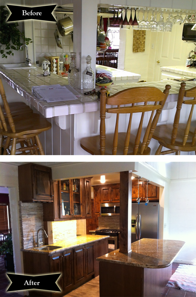 Escondido Kitchen Remodel Before and After