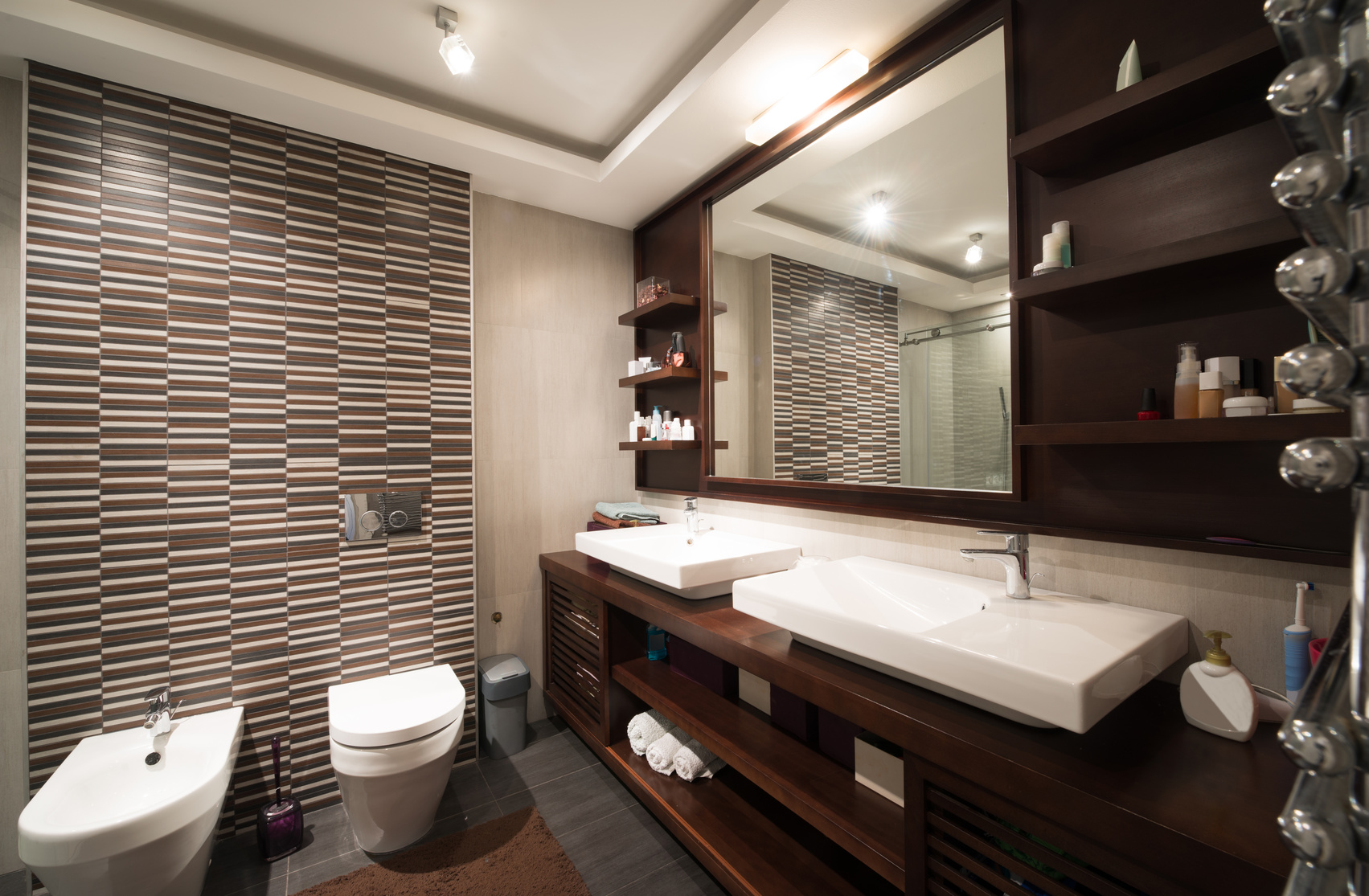 A Stylish Modern Bathroom Is A Great Way To Express Your Own Creativity And  Give Your Home A Fresh Look At The Same Time.