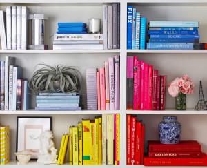 Organized Bookshelf  from realestate.com