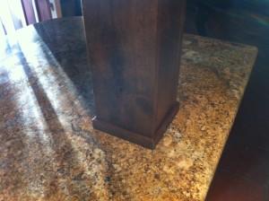 Final Touches Around the Beam | Envision Design Escondido Kitchen Remodel