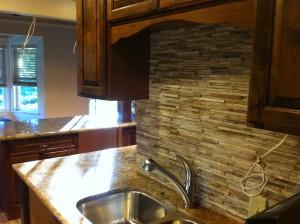 Brand New Backsplash | Envision Design Escondido Kitchen Remodel