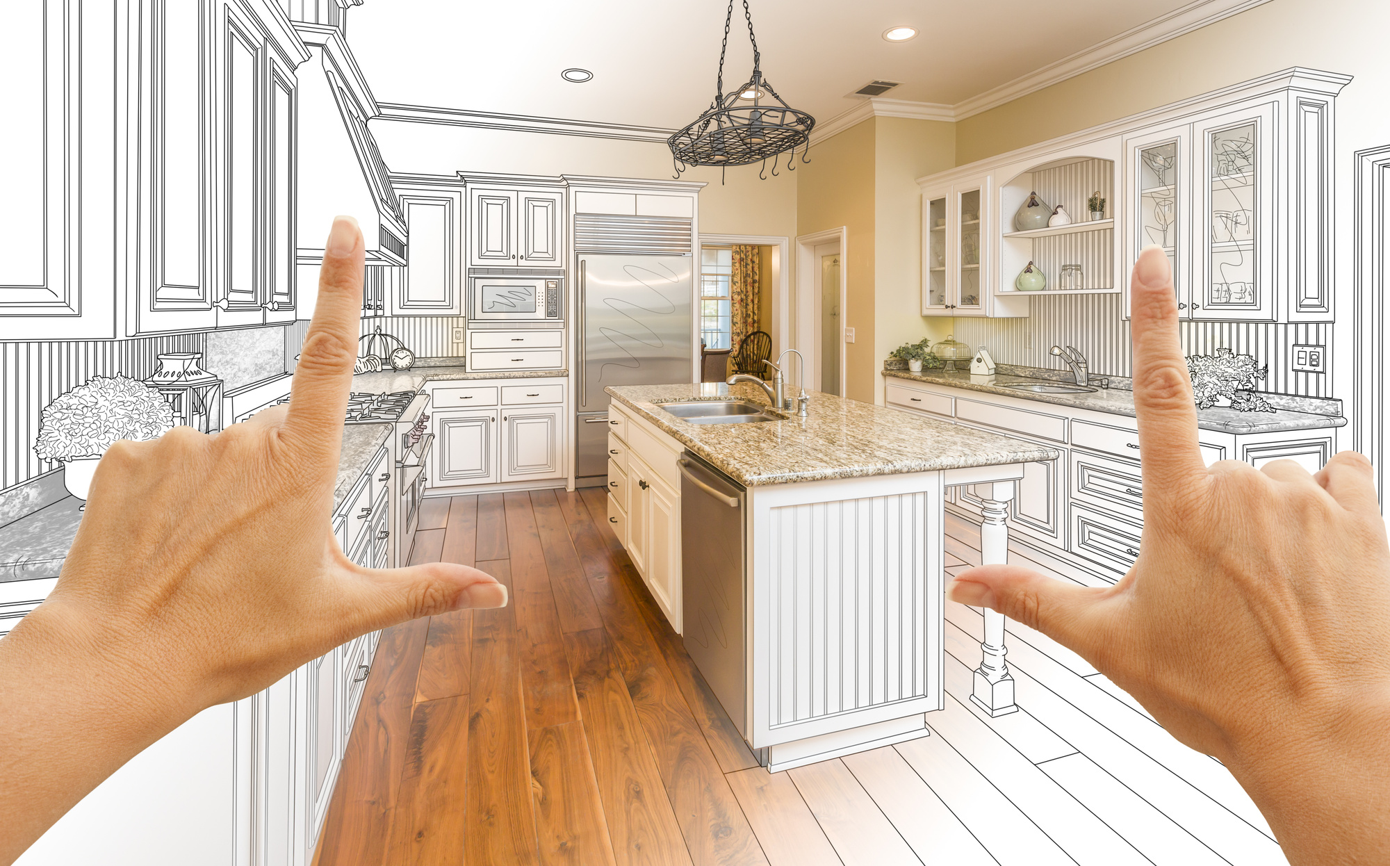 how to create a kitchen remodel budget